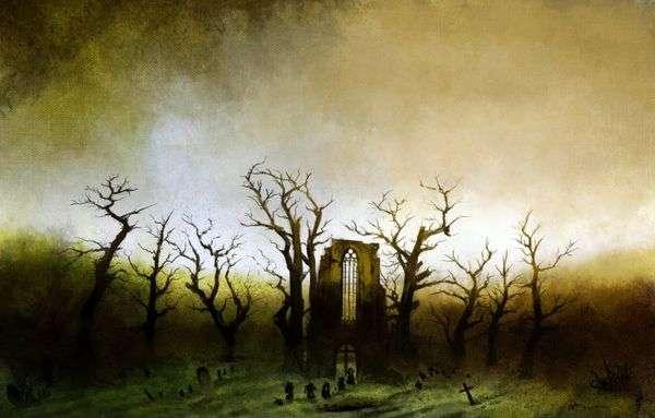 Аббатство в дубовом лесу   Каспар Давид Фридрих