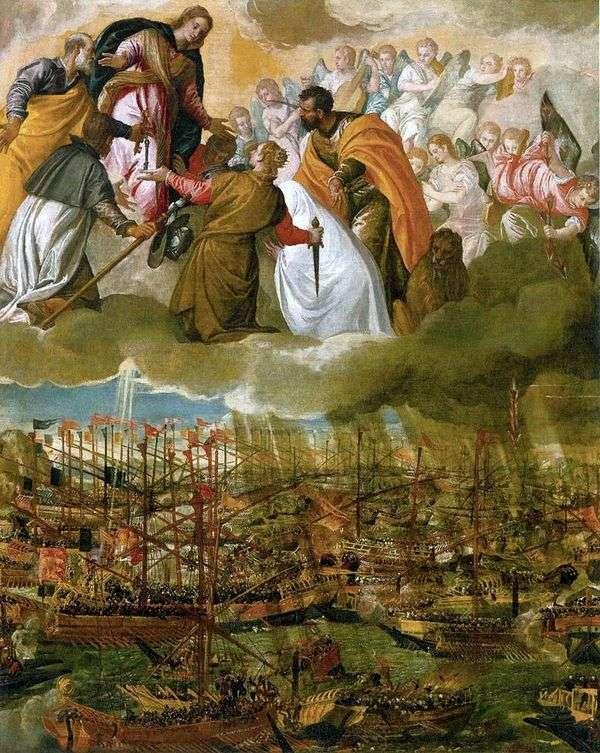 Аллегория битвы при Лепанто   Паоло Веронезе