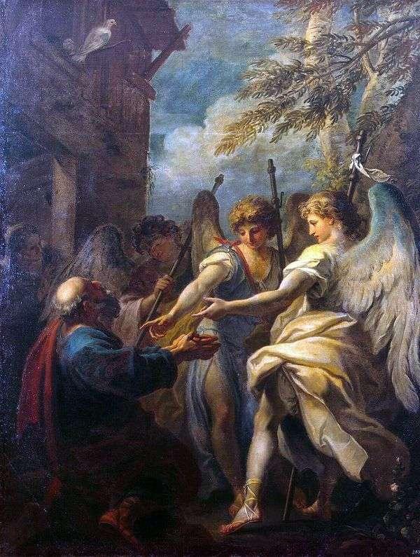 Авраам и три ангела   Себастьяно Риччи