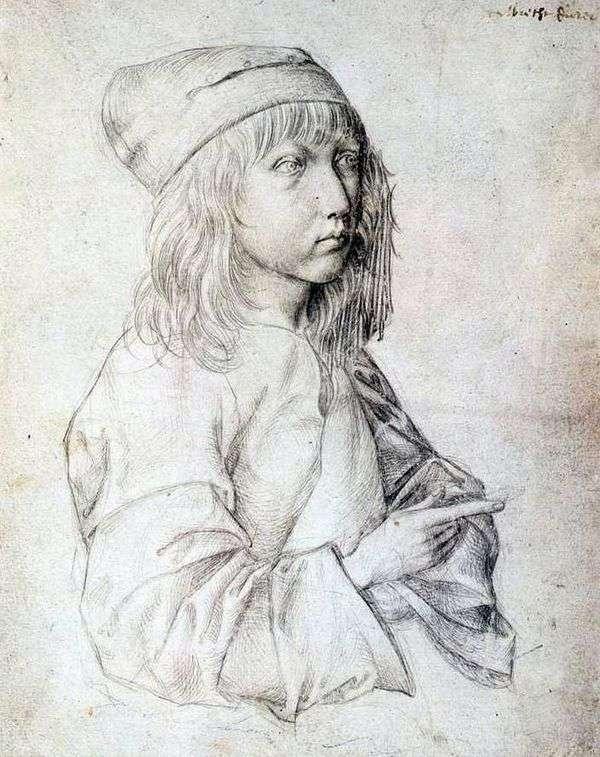 Автопортрет 1484 года   Альбрехт Дюрер