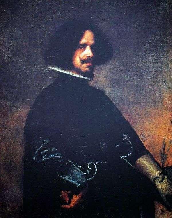 Автопортрет   Диего Веласкес