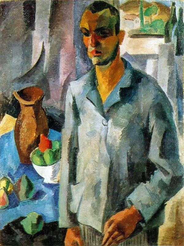 Автопортрет на фоне окна   Роберт Фальк