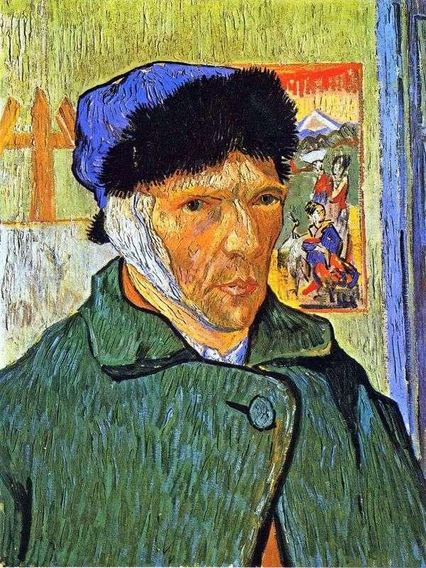 Автопортрет с перевязанным ухом   Винсент Ван Гог