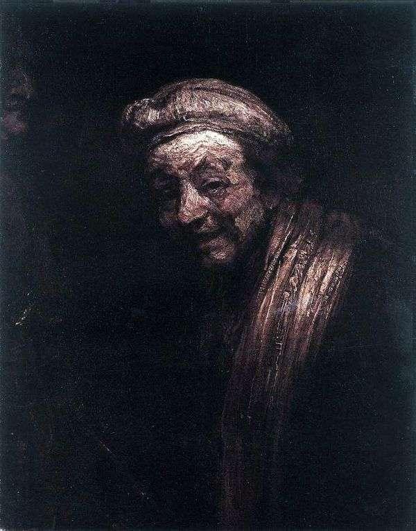 Автопортрет в образе Зевксиса   Рембрандт Харменс Ван Рейн