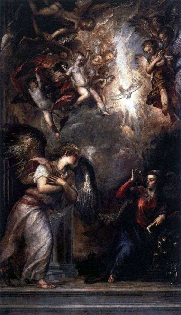 Благовещение   Тициан Вечеллио