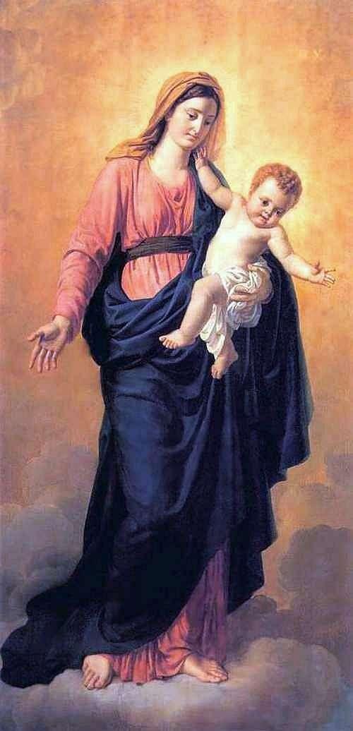 Богоматерь с младенцем   Орест Кипренский