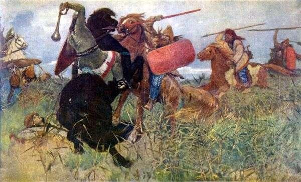 Бой скифов со славянами   Виктор Васнецов