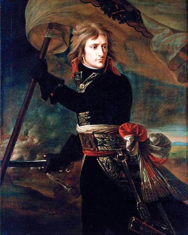 Бонапарт на Аркольском мосту 17 ноября   Антуан Гро