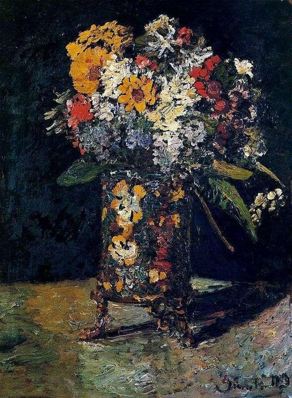 Букет цветов   Адольф Монтичелли