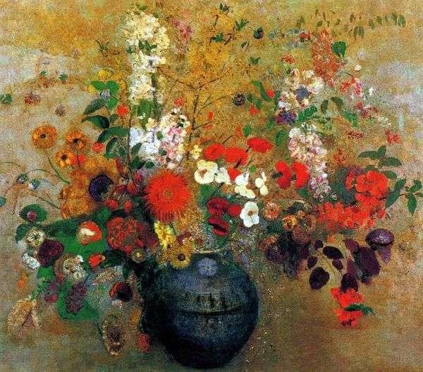 Букет цветов   Одилон Редон