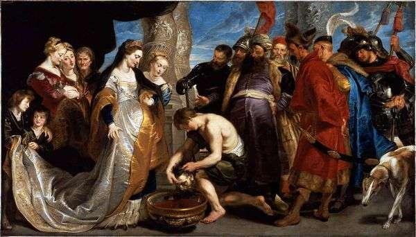 Царица Томирис перед головой Кира   Питер Рубенс