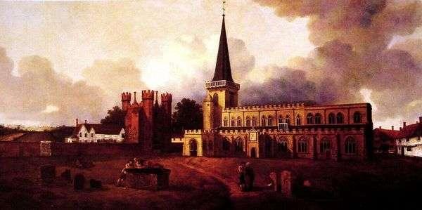Церковь святой Марии   Томас Гейнсборо