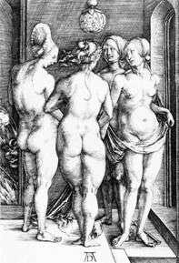 Четыре ведьмы   Альбрехт Дюрер