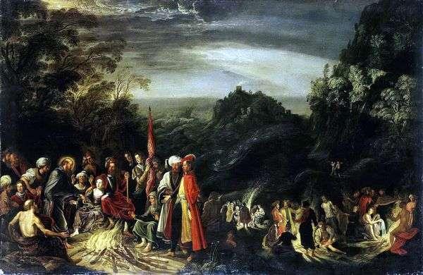 Чудо Апостола Павла на острове Мальта   Давид Тенирс
