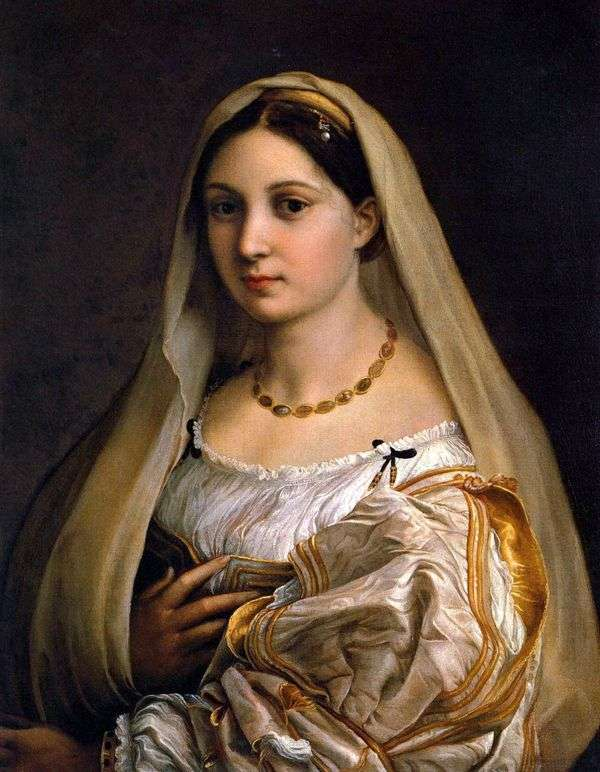 Дама с покрывалом (La Donna Velata)   Рафаэль Санти