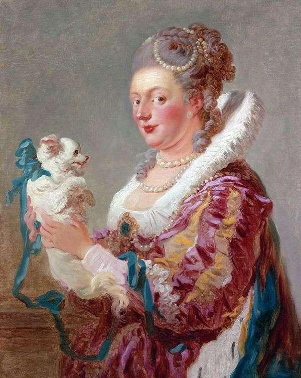 Дама с собачкой   Жан Оноре Фрагонар