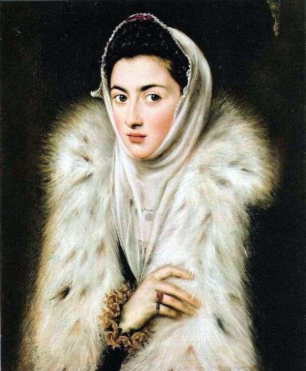 Дама в мехах   Эль Греко