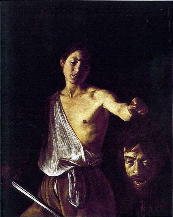 Давид с головой Голиафа   Микеланджело Меризи да Караваджо