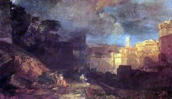 Десятая казнь Египетская   Уильям Тернер