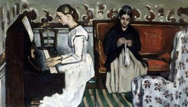 Девушка у пианино (Увертюра к Тангейзеру)   Поль Сезанн