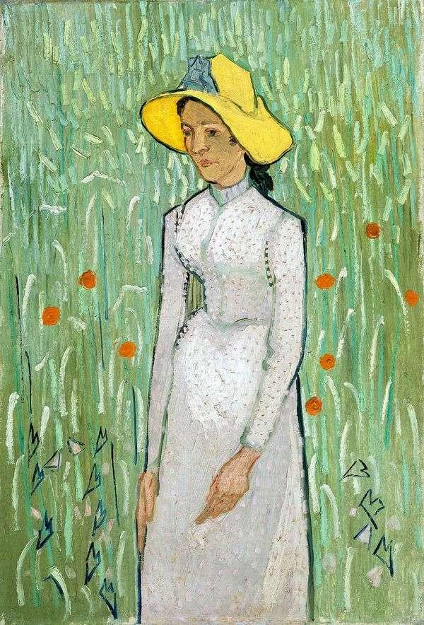 Девушка в белом   Винсент Ван Гог