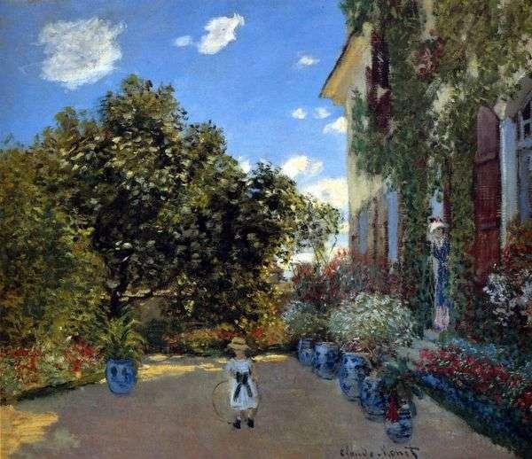 Дом художника в Аржантее   Клод Моне