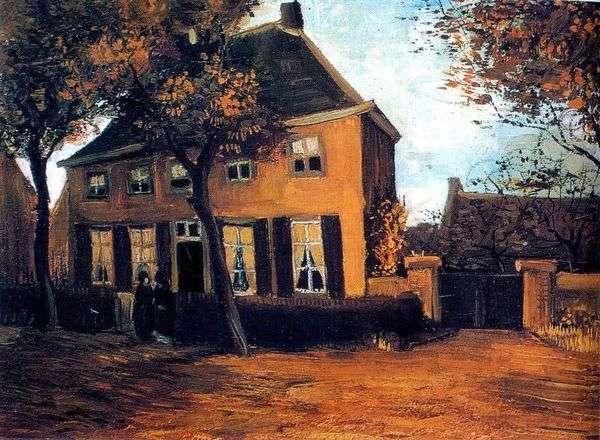 Дом приходского священника в Нюэнене   Винсент Ван Гог