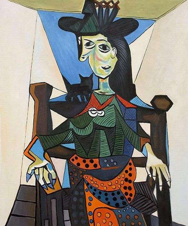 Дора Маар с кошкой   Пабло Пикассо