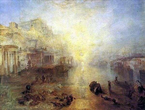 Древняя Италия Овида изгоняют из Рима   Уильям Тернер