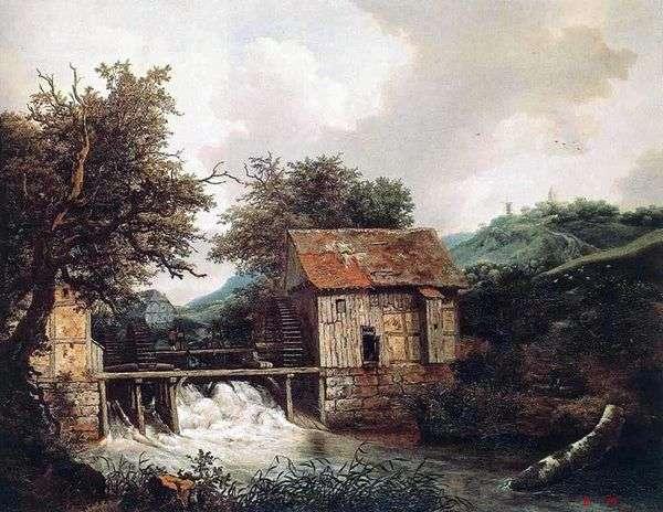 Две мельницы   Якоб ван Рейсдал