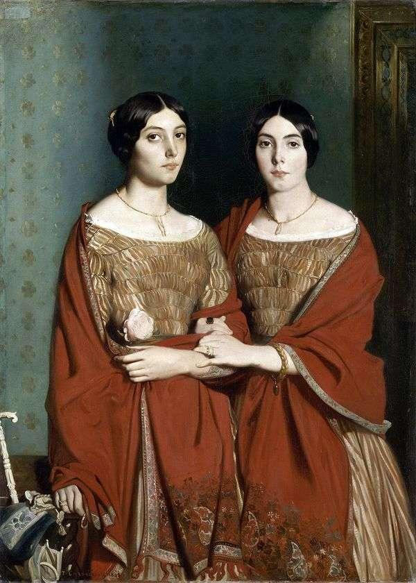 Две сестры   Теодор Шассерио