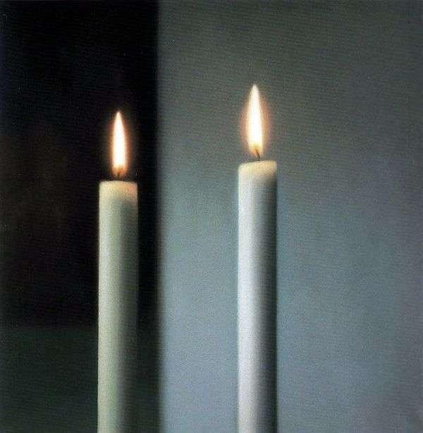 Две свечи   Герхард Рихтер