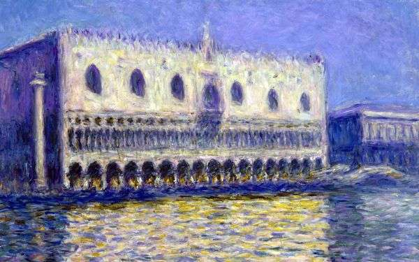 Дворец дожей   Клод Моне