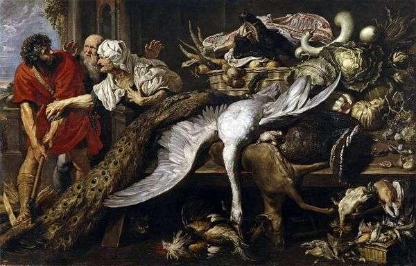 Филопемен и старая рабыня   Питер Рубенс