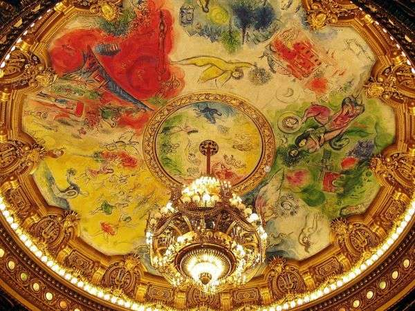 Фрески и мозаики   Марк Шагал