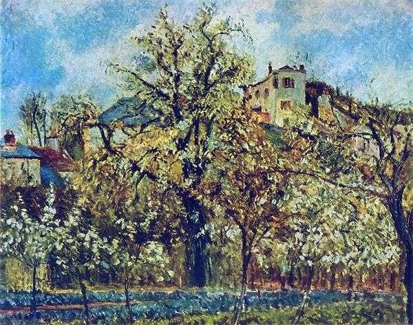 Фруктовый сад в Понтуазе. Весна   Камиль Писсарро