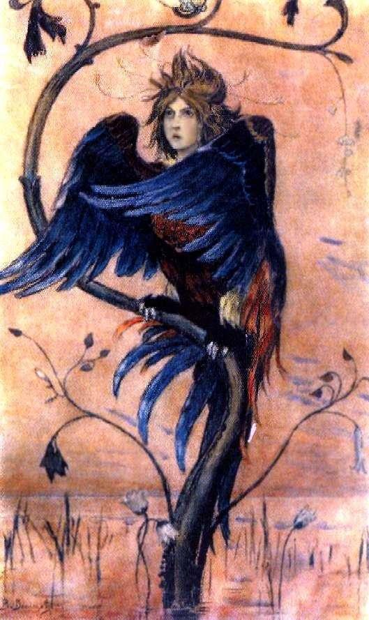 Гамаюн, птица вещая   Виктор Васнецов