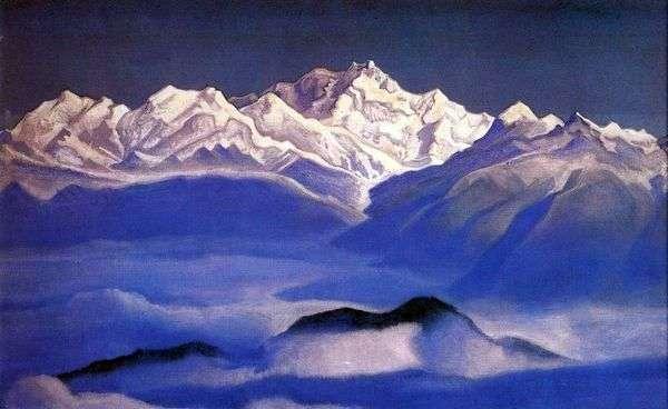Гималаи (Голубые горы)   Николай Рерих