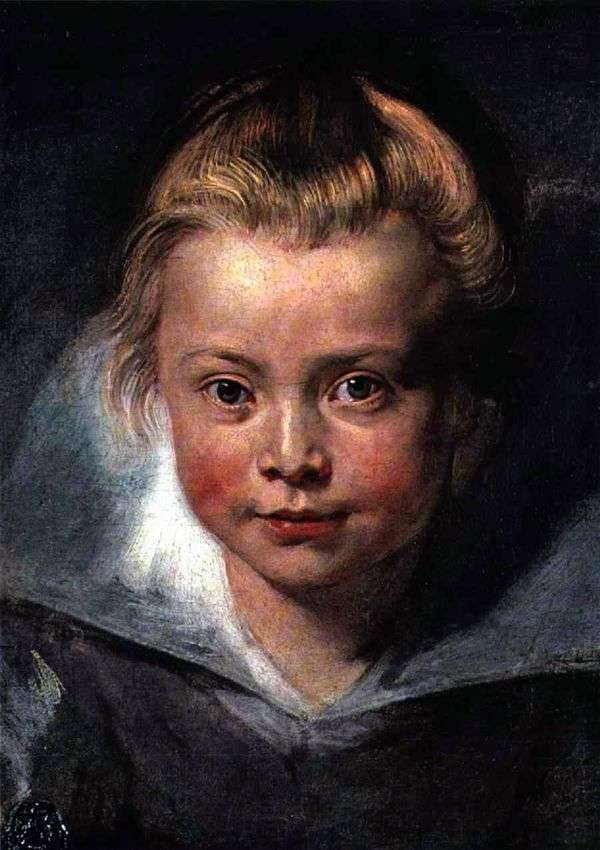 Голова ребенка   Питер Рубенс