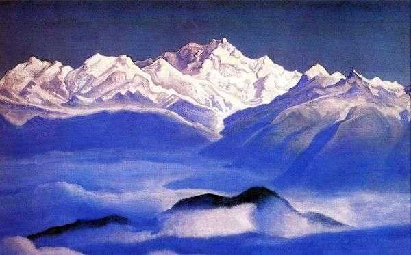 Голубые горы   Николай Рерих