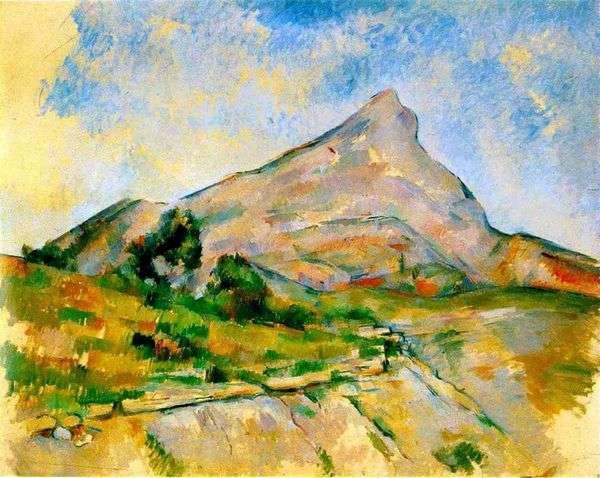 Гора Сен Виктуар (Гора Святой Виктории)   Поль Сезанн