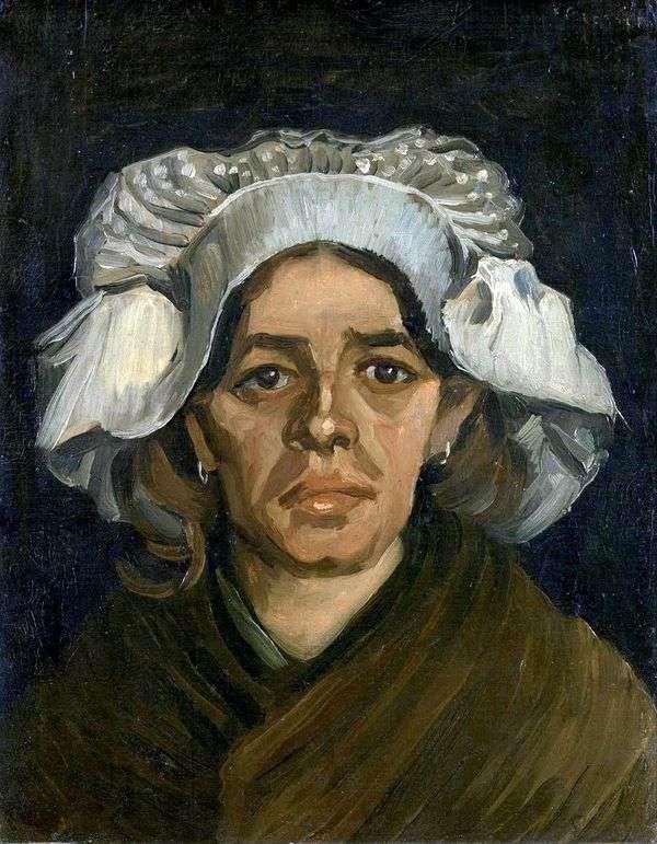 Гордина де Гроот, портрет   Винсент Ван Гог