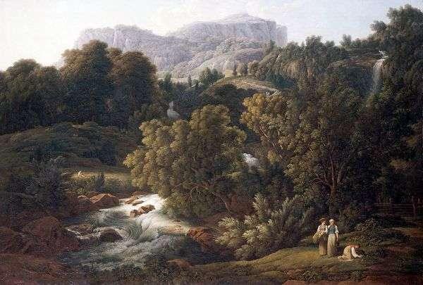 Горный пейзаж   Иозеф Антон Кох