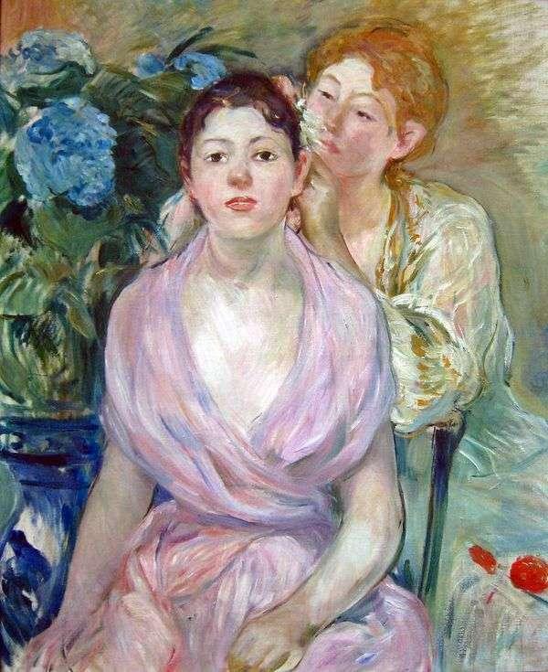 Гортензия (Две сестры)   Берта Моризо