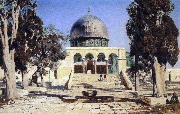 Харам Эш Шериф   площадь, где находился древний иерусалимский храм   Василий Поленов