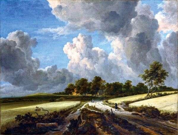Хлебное поле   Якоб ван Рейсдал