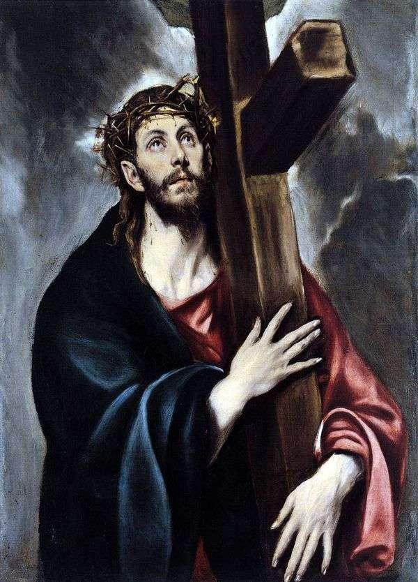 Христос, несущий крест   Эль Греко