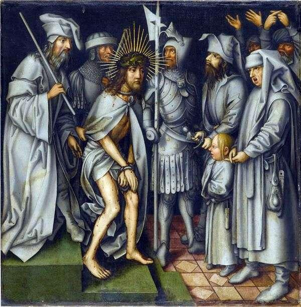 Христос перед Каиафой   Ганс Гольбейн