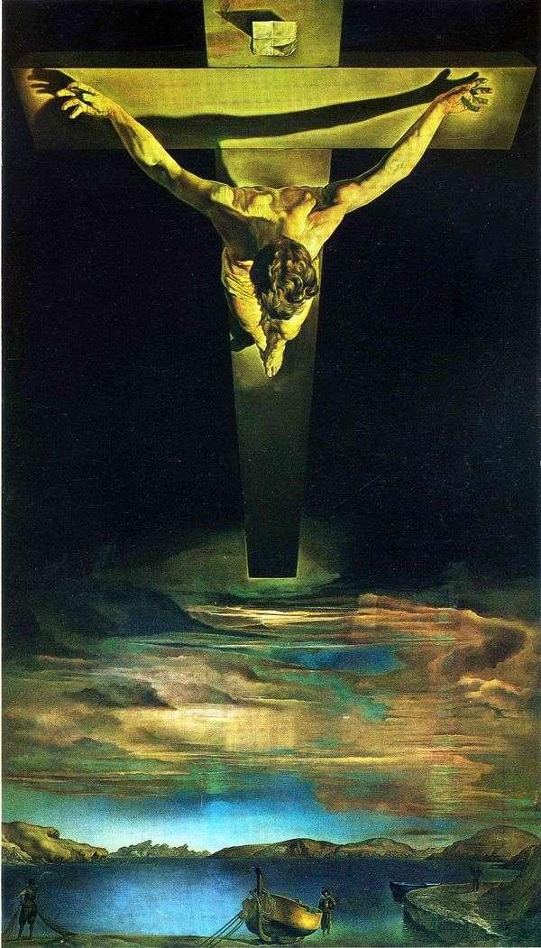 Христос св. Иоанна Креста   Сальвадор Дали