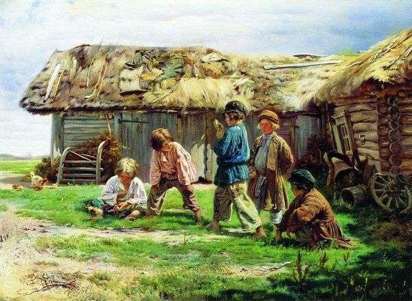 Игра в бабки   Владимир Маковский